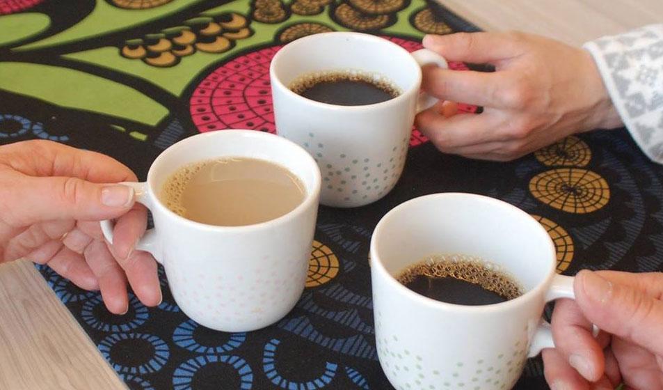 Kohtaamispaikka Kiesi kahvihetki